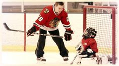 Ben Smith at the #Blackhawks Youth Hockey Camp. Good times were had by all.