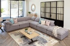 $7,199 Lounge Suites, Your Space, Picture Frames, Corner, Cushions, Couch, Furniture, Interior Design, Modern