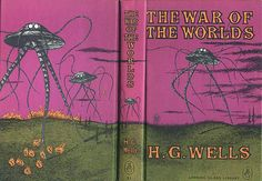 Sci-fi Book Covers: A Century of War of the Worlds - 1960, Looking Glass Library, Edward Gorey