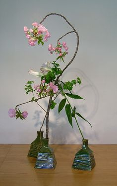 Ikebana Japanese flower arrangement