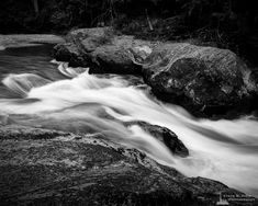 A black and white landscape photograph of a small waterfall along the Ohanapecosh River in Mount Rainier National Park, Washington. Water Photography, Portrait Photography, Mount Rainier National Park, Black And White Landscape, Small Waterfall, Beautiful Waterfalls, Contemporary Landscape, Landscape Photographers, Pacific Northwest