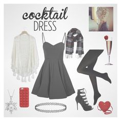 Cocktail Party by gamelicker on Polyvore featuring Glamorous, Chicwish, Alexander McQueen, Kate Spade, Bling Jewelry, Humble Chic and Marc Jacobs