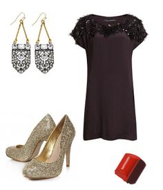 Festive Fashion // New Years Eve outfit New Years Eve Outfits, Festival Fashion, Festive, Formal Dresses, Image, Dresses For Formal, Gowns, Festival Style