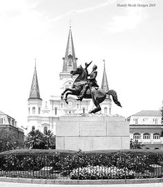 Jackson Square -  New Orleans by ShandyNicole