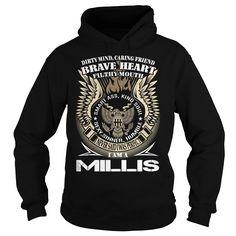 [Popular Tshirt name list] MILLIS Last Name Surname TShirt v1 Shirts Today Hoodies, Funny Tee Shirts