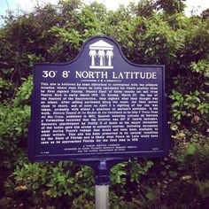 """At a position of 30 degrees 8 minutes north latitude (between St. Augustine and Ponte Vedra Beach) you'll find a historical marker recognizing the only navigational reading recorded of Ponce de Leon's """"Journey of Discover"""" taken the day before his April 3, 1513 landing when he claimed La Florida for Spain.  If you want to want to check it out and don't have a quadrant or mariner's astrolabe handy, make your way to the North Beach Access Parking Lot, Ponte Vedra Beach (32082). #ExploreA1A"""