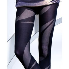Fabulous, bold wavy patterned tights. 6,85€