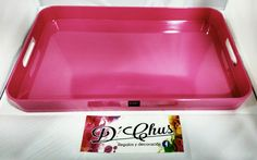 Bandejas del modelo Plastico Rosa. #dchusregalos #DCHUS #bandejasplasticorosa