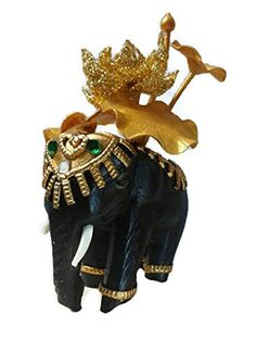 Baipho Lucky Elephant Wood Lotus Figurine Statue Buddha Meditation Collectible Home Decor Gift >>> Continue to the product at the image link.