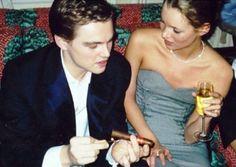 Leonardo DiCaprio & Kate Moss
