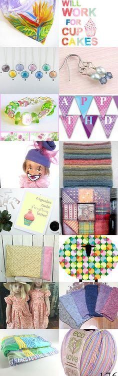 Will Work for Cup Cakes by Margie on Etsy--Pinned+with+TreasuryPin.com