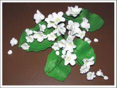 fiorellini in pasta di zucchero
