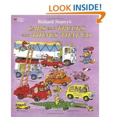 Remember to look for Gold Bug on every page!  -- Richard Scarry's Cars and Trucks and Things That Go