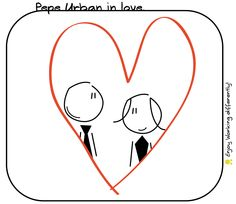 valentines day, pepe, urban, anita, love, in love, tie, drawing, office