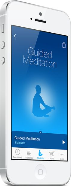 I love the Mindfulness app! It has great guided meditations. The body scan makes me feel totally relaxed in just a few minutes. Love, Sarah #anti-stress #mindfulness www.goachi.com