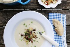 9 KJAPPE HVERDAGSMIDDAGER Risotto, Bacon, Food And Drink, Soup, Ethnic Recipes, Image, Soups, Pork Belly