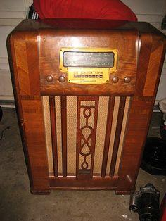 Console Radio can be found at fleas. Biddy Craft