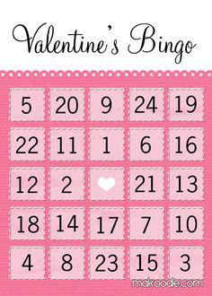 valentine bingo free printable perhaps the winner could do