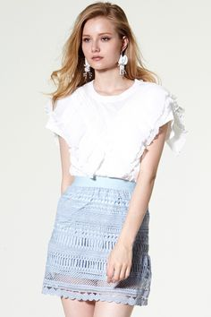 Madison Pleats Panelled Top Discover the latest fashion trends online at storets.com