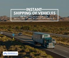 We make sure your vehicle is delivered on time, and at the location you specify. You can track your vehicle in real-time so you are always in the loop. #InstantShipping #OnlineAutoDelivery #movecar #CarShippingCost #autotransportcarriers #autotransport #carshipping Move Car, Shipping Company, Transportation, Track, Vehicles, Runway, Truck, Car, Running