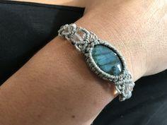 Attention, Bracelets, Turquoise Bracelet, Macrame, Jewelry, Tutorials, Owls, Stone, Jewlery