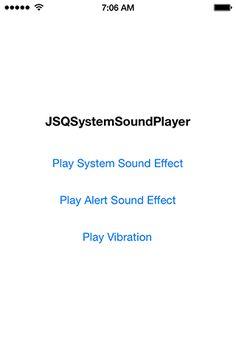 JSQSystemSoundPlayer