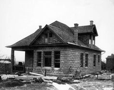 A house on 7th Avenue and K Street, 1905. Courtesy Utah State Historical Society