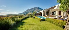 stellenbosch delaire Graff hotel cape town Gardens views Pool wedding night Cape Town, South African Wine, Romantic Places, Luxury Accommodation, Wedding Night, Pool Wedding, Lodges, National Parks, Country Roads
