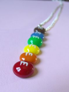 Fake Food Jewelry M Inspired Candy Necklace by kawaiibuddies, $20.00