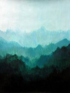 Mists No. 2 Stretched Canvas