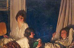 Idleness ~ Stanley Cursiter ~ (Scottish: 1887-1976)