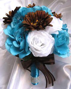 Blue & Brown Bouquet