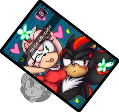 Uke Amy rose is best Amy rose shipped with possibly yandere Shadow. Shadow The Hedgehog, Sonic The Hedgehog, Shadamy Comics, Shadow Face, Shadow And Amy, Dangerous Love, Romantic Love Stories, Bad Picture, Hedgehogs