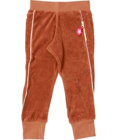 Kik-Kid stoere bruine jogging broek in badstof katoen. kik-kid.nl.emilea.be