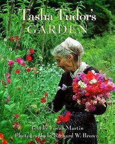 A favorite garden book: Tasha Tudor's Garden by Tovah Martin. #sponsored