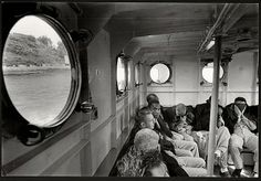 Last prisoners leaving Alcatraz.  March 21 1963