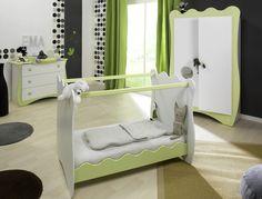 Sur commande tour de lit et gigoteuse 0 6 mois gris turquoise anis couture pinterest for Mobilier chambre bebe originale
