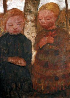 Paula Modersohn-Becker - Two Girls