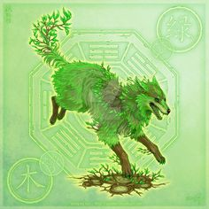 Wolf of Woods by yuumei.deviantart.com on @DeviantArt