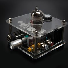 Bravo V2 // Tube Headphone Amplifier i have to find this designer .... we could have ALOT to talk about