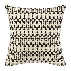 Iza Pearl Dottie Delight Embroidered Throw Pillow Reviews ($60) ❤ liked on Polyvore featuring home, children's room and children's bedding