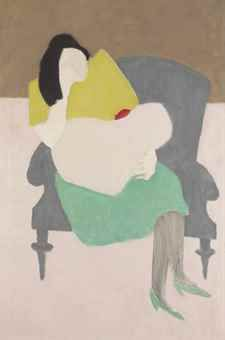 Milton Avery (1885-1965)   Mother and Child   20th Century ...