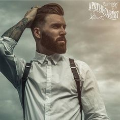 @levistocke keeping it stylish with our products. Get yours at: www.apothecary87.co.uk #Apothecary87 #TheManClub Photo: @lanedorsey