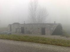 De bunker aan de Dordtse Beerpolderweg