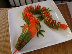 Cucumber Carrot Dragon