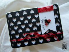 Ladybug card with #Sizzix Life Made Simple dies