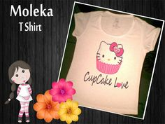 T Shirt Infantil Cupcake