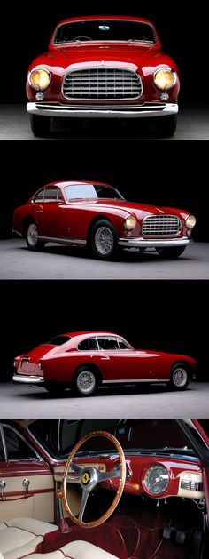 1951 Ferrari 340 America Ghia / red / Italy / 197hp Lampredi V12 /… - https://www.luxury.guugles.com/1951-ferrari-340-america-ghia-red-italy-197hp-lampredi-v12/