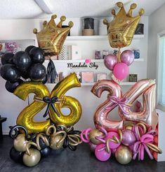 26 & 24 👑 Not double trouble, but twice blessed! Our Mandala Premium Bouquets are a perfect gift for any occasion. Purple Balloons, Large Balloons, Up Balloons, Letter Balloons, Baby Shower Balloons, Birthday Balloon Decorations, Happy Birthday Balloons, Diy Party Decorations, Balloon Arrangements
