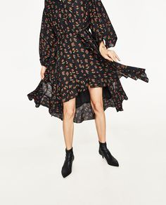 PRINTED DRESS-View All-DRESSES-WOMAN-SALE | ZARA United States